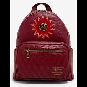 Loungefly Disney Lion King Mini Maroon Backpack